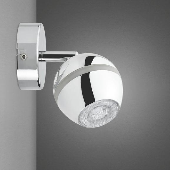 LED-Wandleuchte Tiffany - Chromfarben, Metall (8/15,2cm) - MÖMAX modern living