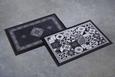 Predpražnik Mosaik 2 - črna/srebrna, Moderno, tekstil (40/60cm) - Mömax modern living