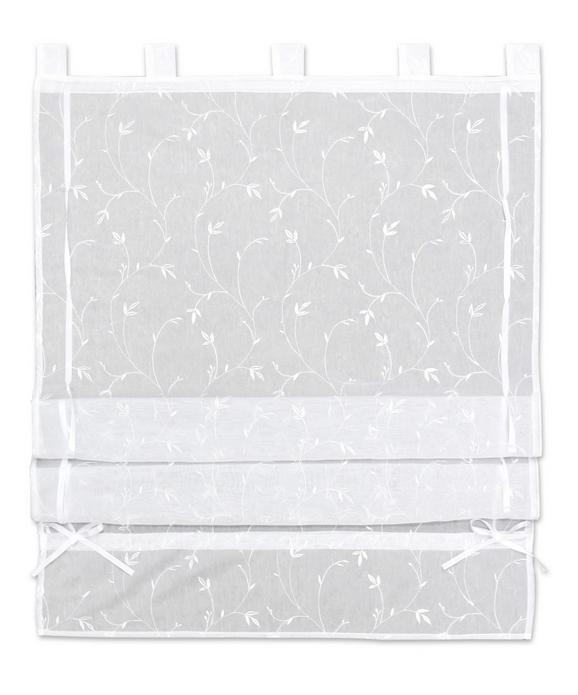 Szövetroló Romantic - Fehér, romantikus/Landhaus, Textil (80/140cm) - Mömax modern living