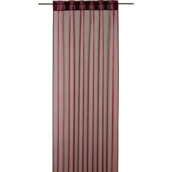 Končana Zavesa Tosca - 2-delni Set -eö- - lila, tekstil (140/245cm) - Mömax modern living