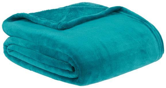Kuscheldecke Julian Smaragdgrün 140x200cm - Smaragdgrün, Textil (140/200cm) - MÖMAX modern living