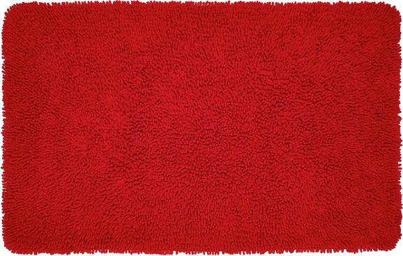 Fürdőszobaszőnyeg Jenny - Piros, Textil (70/120cm) - Mömax modern living