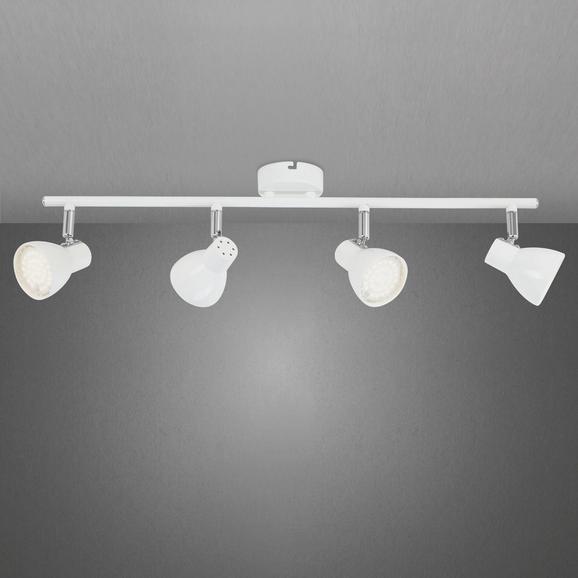 LED-Deckenleuchte Spotty - Weiß, Kunststoff/Metall (60/8/15cm) - MÖMAX modern living