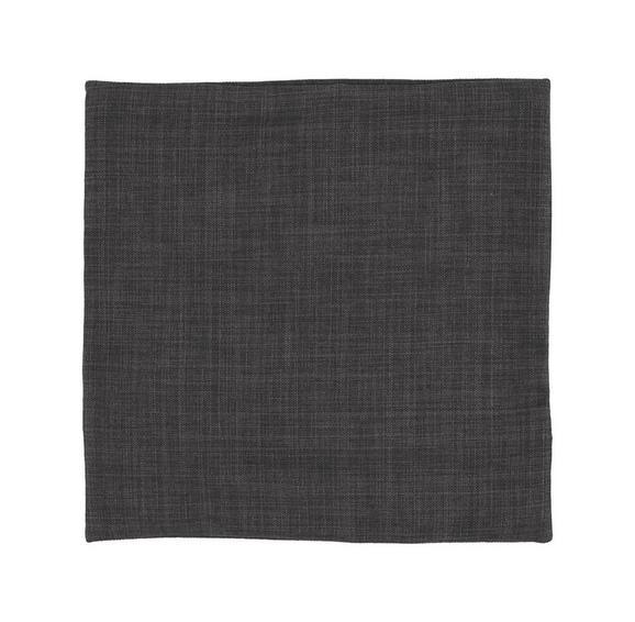 Kissenhülle Leinenoptik, ca. 40x40cm - Grau, KONVENTIONELL, Textil (40/40cm) - Mömax modern living
