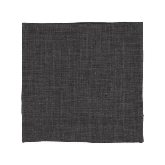 Prevleka Blazine Leinenoptik - siva, Konvencionalno, tekstil (40/40cm) - Mömax modern living