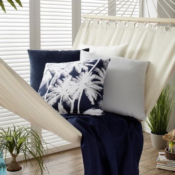 Pernă Decorativă Zippmex - gri deschis, textil (50/50cm) - Based
