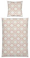 Bettwäsche Zoe Wende Rosa 135x200cm - Pink, ROMANTIK / LANDHAUS, Textil (135/200cm) - Mömax modern living