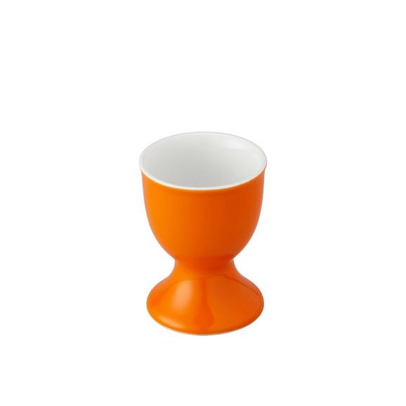 Eierbecher Sandy in Orange - Orange, KONVENTIONELL, Keramik (4,8/6,5cm) - MÖMAX modern living
