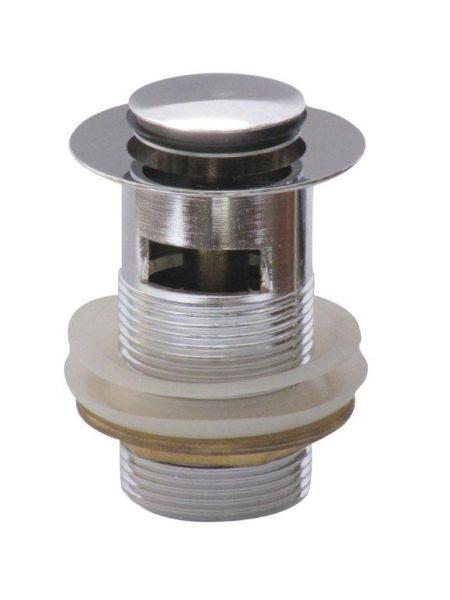 Sanitärzubehör Press-exzenter M. Überlauf - Metall (15,5/9,5/6,5cm) - Mömax modern living