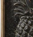 Bild Pineapple ca.59,6x109,5x6cm - Silberfarben/Braun, MODERN, Holz/Metall (59,6/109,5/6cm) - Mömax modern living