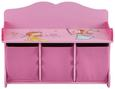 Kindersitzbank Alisa mit Stauraum - Rosa, MODERN, Holzwerkstoff (69/50/30cm) - Mömax modern living