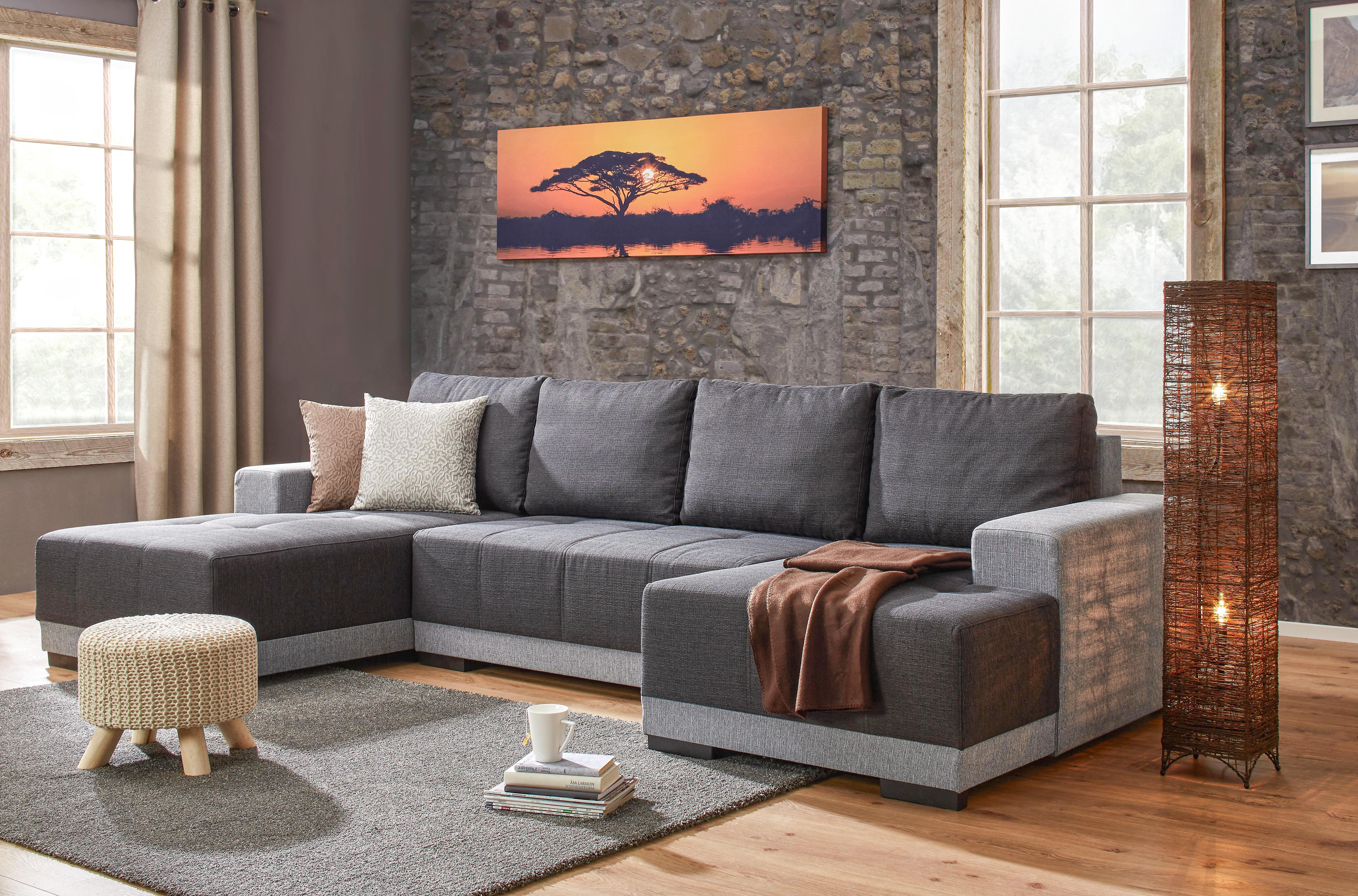 Állólámpa Fatima - barna, romantikus/Landhaus, textil/fém (20/20/115cm) - MÖMAX modern living