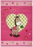 Kinderteppich Pony in Pink, ca. 120x170cm - Pink, Textil (120/170cm) - MÖMAX modern living