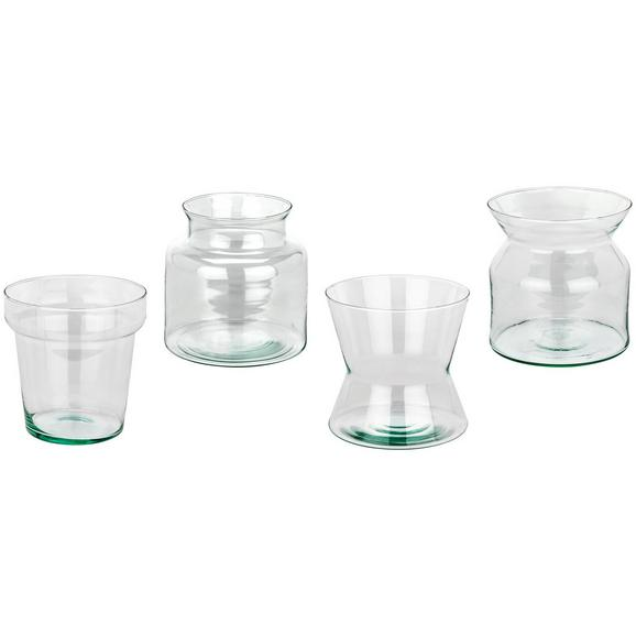 Vase Marina Verschiedene Modelle - Klar, LIFESTYLE, Glas (14.5/14/14.5cm)