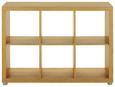 Predelna Stena Aron - aluminij/hrast, umetna masa/leseni material (117/84/35cm) - Mömax modern living