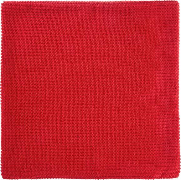 Kissenhülle Maxima, ca. 50x50cm - Rot, KONVENTIONELL, Textil (50/50cm) - Mömax modern living
