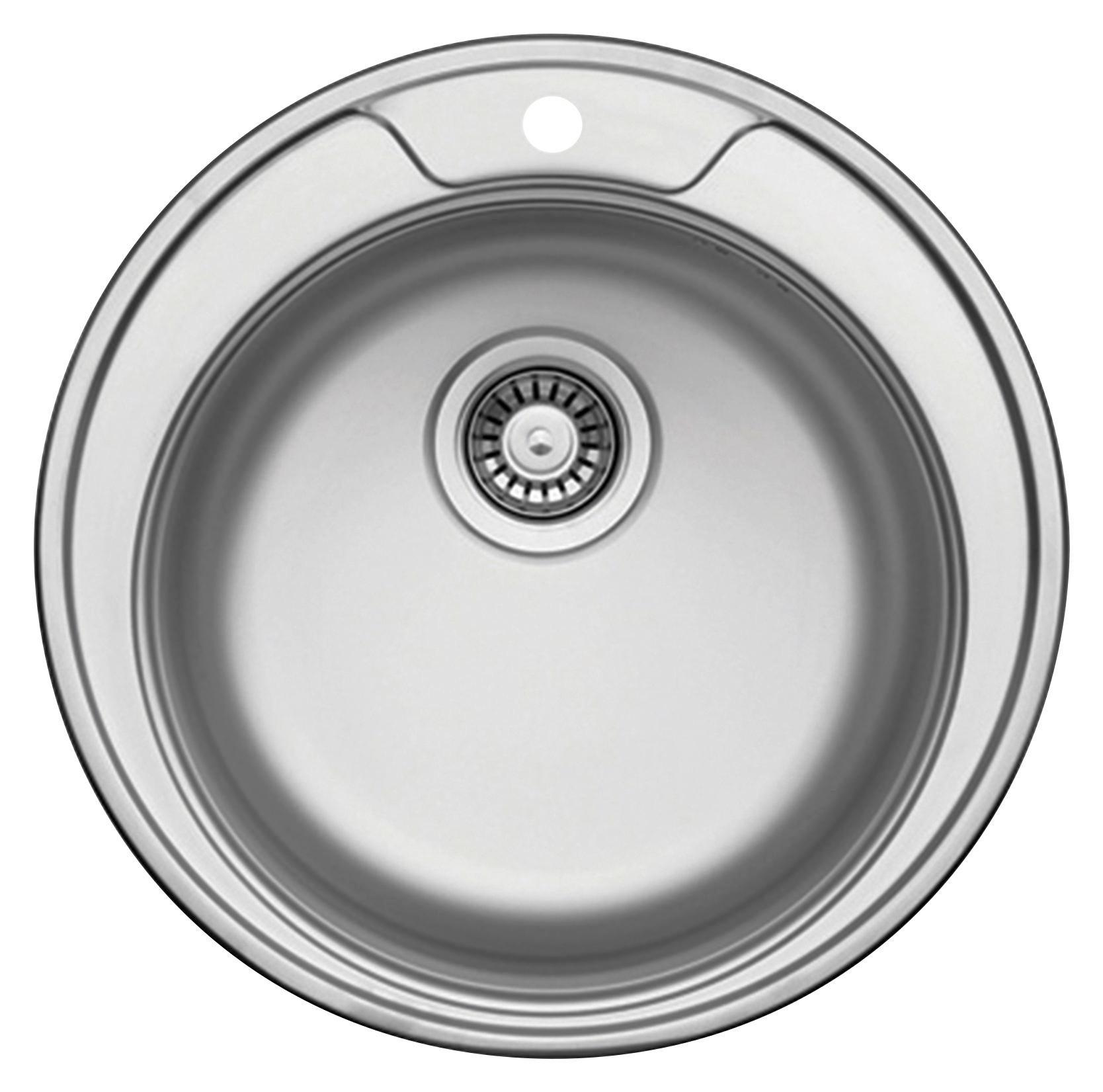 Spülbecken rund edelstahl matt  Küchenspülen entdecken | mömax