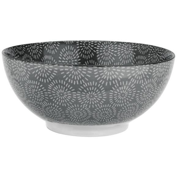 Skleda Nina - siva, keramika (20cm) - Mömax modern living