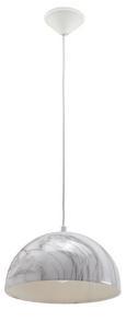 Hängeleuchte Larina - Weiß, MODERN, Metall (30/120cm) - Modern Living