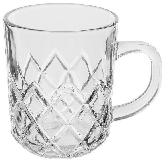 Skodelica Gloria - prozorna, steklo (0,24l)