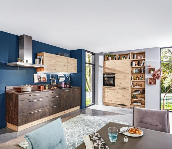 Vgradna Kuhinja Stone/artwood - hrast/baker, leseni material (262,5/180cm) - Nolte Küchen