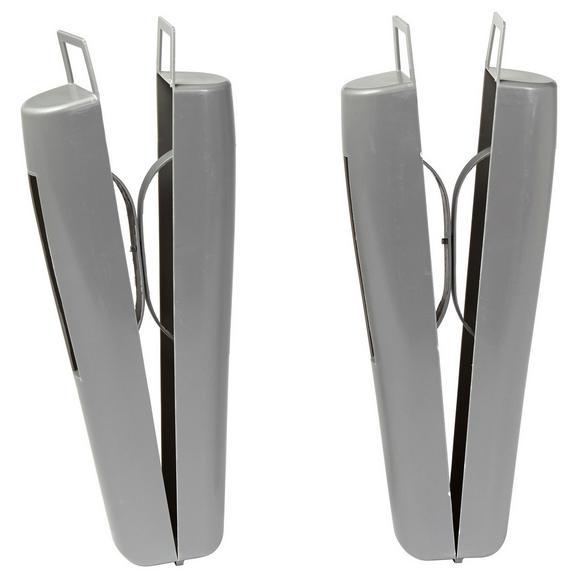 Napenjalec Za Škornje Kate - siva, umetna masa (28/13cm) - Mömax modern living