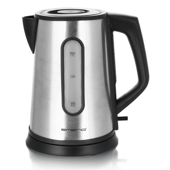 Grelnik Vode Jasmin -top- - črna/srebrna, kovina/umetna masa (1,7l)