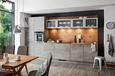 Küchenblock Nolte Stone Hellgrau - Hellgrau (380cm)