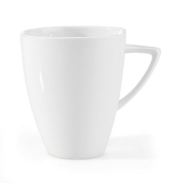 Lonček Za Kavo Tacoma - bela, Trendi, keramika (8,4/9,8cm) - Premium Living