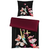 Bettwäsche Berry Love ca. 135x200cm - Beere, ROMANTIK / LANDHAUS, Textil (135/200cm) - Premium Living