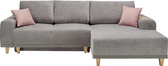 Sarokgarnitúra Opal - konvencionális, Textil (280/178cm) - Zandiara