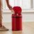 Echtwerk Abfalleimer 9 Liter mit Infrarotsensor - Rot/Schwarz, KONVENTIONELL, Kunststoff/Metall (24,5/37,5cm) - Echtwerk