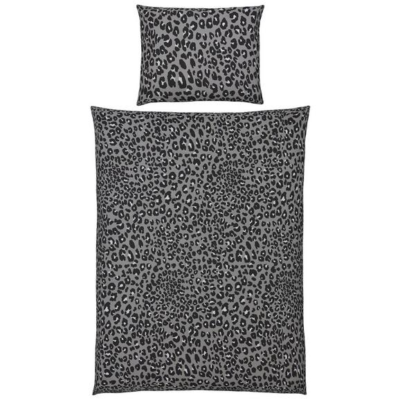 Bettwäsche Kerstin Grau 140x200cm - Sandfarben/Hellbraun, KONVENTIONELL, Textil (140/200cm) - Mömax modern living