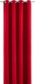 Ösenvorhang Ulli in Rot, ca. 140x245cm - Rot, Textil (140/245cm) - Mömax modern living