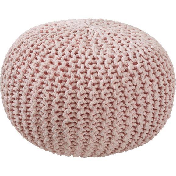 Ülőpárna Aline - Rózsaszín, Textil (50/30cm) - Premium Living