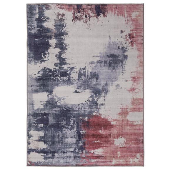 Covor Țesut Siena - roz/gri, textil (160/230cm) - Modern Living