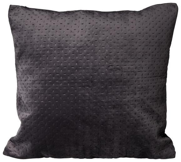 Zierkissen Verschiedene Farben 45x45cm - Anthrazit/Hellgrau, Textil (45/45cm) - Mömax modern living