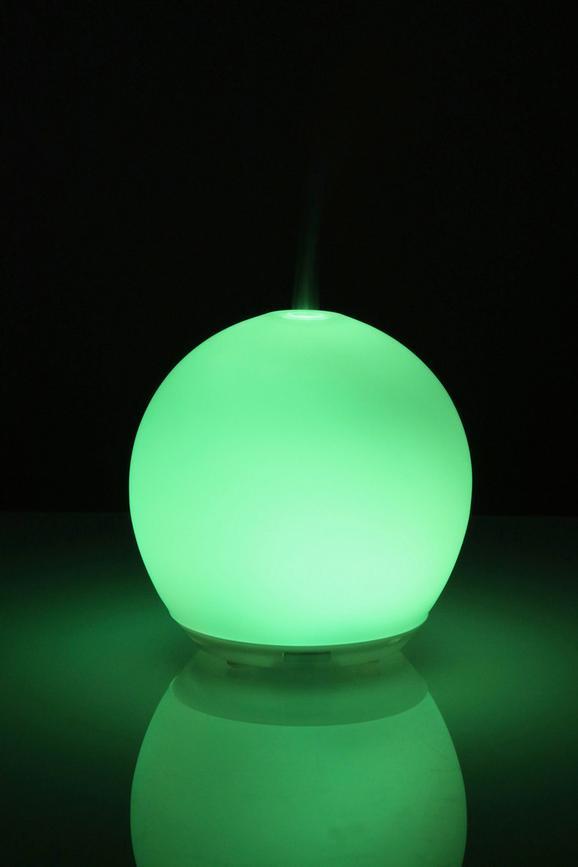 Raumdufthalter Smell, D: ca. 14cm - Weiß, Glas/Kunststoff (14/14/15cm) - Mömax modern living
