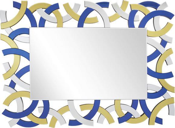Stensko Ogledalo Stella - večbarvno, Moderno, steklo/leseni material (87/120/1,9cm) - Mömax modern living