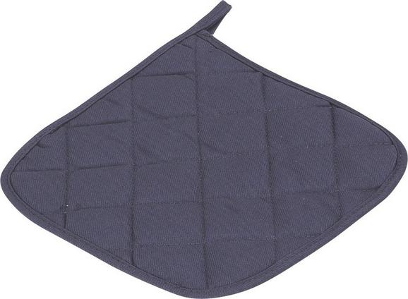 Topflappen Evelin Anthrazit Baumwolle - Anthrazit, Textil (20/20cm) - Mömax modern living