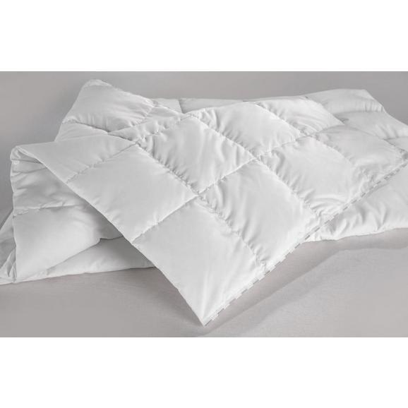 Prešita Odeja Premium Mittel - bela, tekstil (135/200cm) - Premium Living