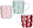 Kaffeebecher Teresa Verschiedenen Farben - Blau/Pink, ROMANTIK / LANDHAUS, Keramik (8/8,1cm) - Mömax modern living