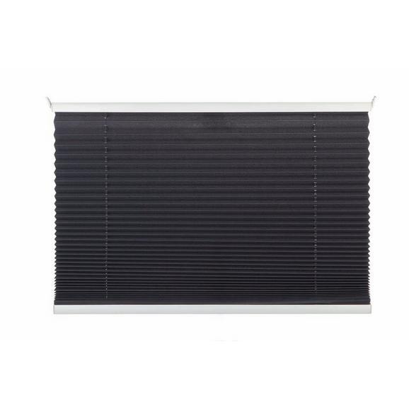 Plissee Free Grau ca. 80x130cm - Anthrazit, Textil (80cm) - Mömax modern living