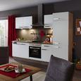 Kuhinjski Blok Laura - bela/hrast tartuf, leseni material (270cm)