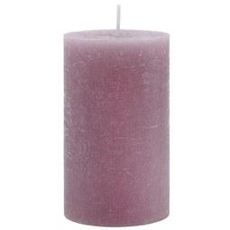 Stumpenkerze Lia Mauve - Violett, MODERN (6,8/12cm) - Mömax modern living