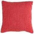 Zierkissen Gitta Koralle 43x43cm - Orange, MODERN, Textil (43/43cm) - Mömax modern living