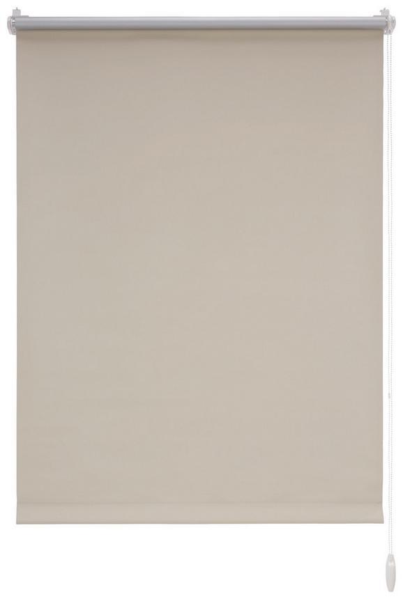 Klemmrollo Thermo Sand, ca. 75x150cm - Sandfarben, Textil (75/150cm) - Premium Living