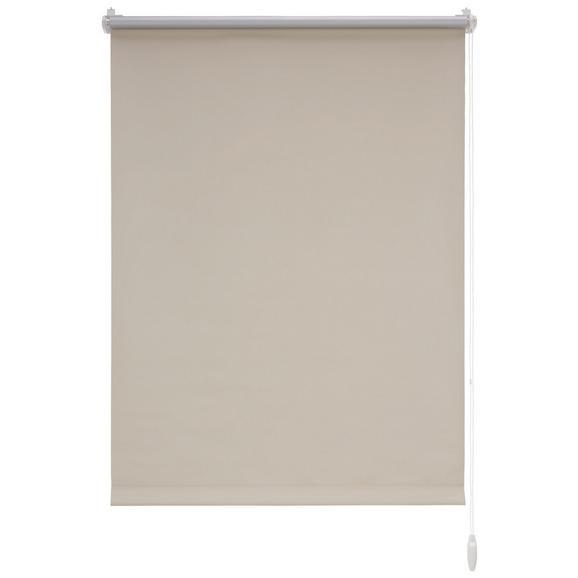 Klemmrollo Thermo Sand ca. 75x150cm - Sandfarben, Textil (75/150cm) - Premium Living
