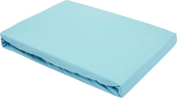 Spannleintuch Basic ca. 100x200cm - Mintgrün, Textil (100/200cm) - Mömax modern living