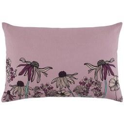Zierkissen Flowerfield ca.40x60cm - Flieder, ROMANTIK / LANDHAUS, Textil (40/60cm) - Mömax modern living